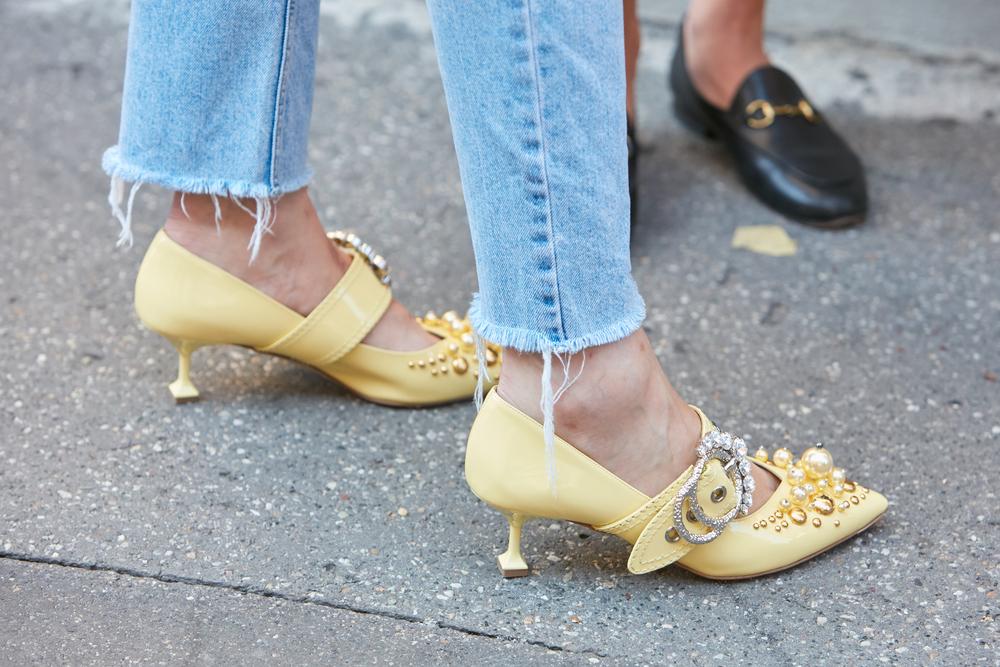 Los colores de la temporada para calzado
