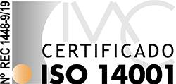 Certificado de medioambiente ISO 14001