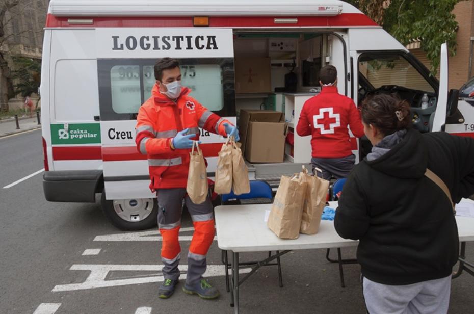 Cruz Roja Responde un plan de ayuda para paliar la crisis del COVID-19