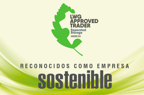 Recognised as a sustainable company by the LEATHER WORKING GROUP