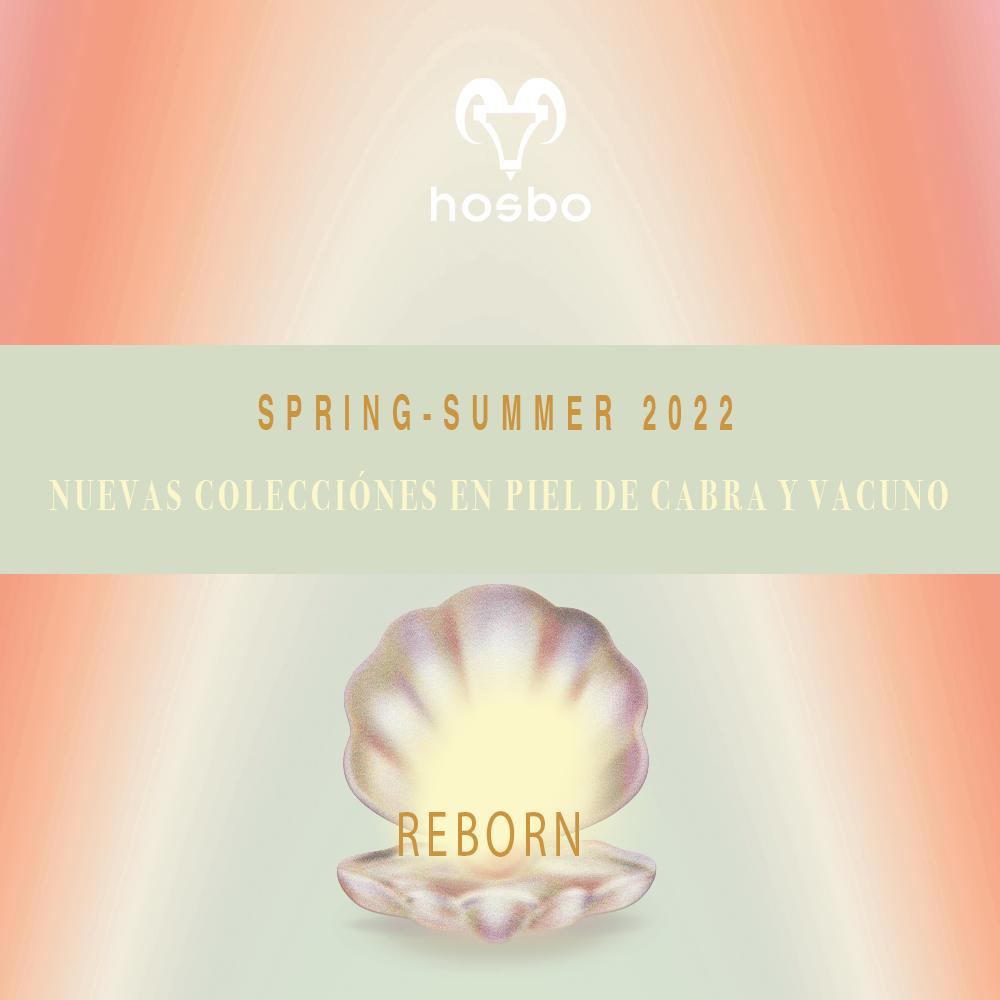 """HOSBO """"REBORN"""" nuevas colecciones en piel SS22"""